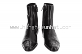 S Boot cổ ngắn Chanel màu đen size 36 C -S-Boot-co-ngan-Chanel-mau-den-size-36-C