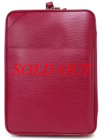 SA Vali du lịch Louis Vuitton màu đỏ size 55 M23028