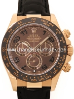 Đồng hồ Rolex daytona K18PG màu nâu 116515LN