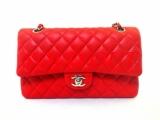 Túi xách Chanel classic màu đỏ