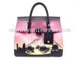 Túi xách Versace màu hồng đen