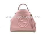 Túi xách Gucci Soho màu hồng 336751