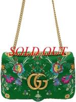 Túi đeo chéo Gucci GG Mermont xanh lá cây 443496