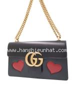 Túi xách Gucci GG Mermont màu đen 431777