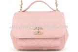 S Túi đeo chéo Chanel màu hồng