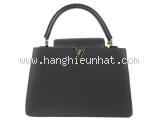 SA Túi xách Louis Vuitton Capucines MM màu đen