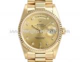 SA Đồng hồ Rolex Day-Date Vàng K18YG Kim Cương