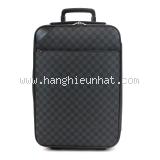 SA Vali du lịch Louis Vuitton Pegase Light 55 đen ghi