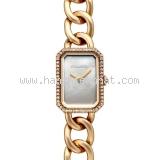 NEW Đồng Hồ chanel vàng hồng K18PG kim cương