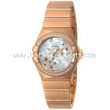 New đồng hồ Omega constellasion vàng hồng kim cương -New-dong-ho-Omega-constellasion-vang-hong-kim-cuong
