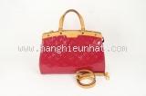 MS1118cL10 Túi Louis Vuitton brea MM hồng sen bóng