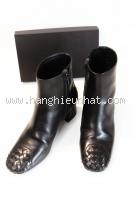 MSa S Boot Bottega veneta đen ngắn cổ size 36,5