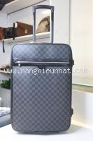 VL08 Vali Louis Vuitton damier xanh size 55