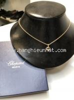 MS4800 vòng cổ Chopard happy diamond vàng hồng 1P
