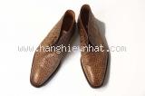 MSaS Giày nam Primes shoes nâu sần size 6