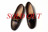 MS Giày nam Salvartore Ferragamo đen logo vàng size 9.5