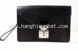 MS Túi cầm tay nam Louis Vuitton dragon epi đen khóa bạc
