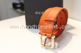 new Thắt lưng Gucci cam size 95