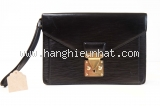 MS03 Cầm tay Louis Vuitton epi dragon đen