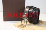 TL02 Thắt lưng Louis Vuitton damier đen size 90