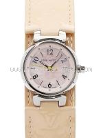 Đồng hồ nữ Louis Vuitton Tambour PM mặt hồng Q12160