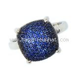 Nhẫn Tiffany&co Paloma's Sugar Stacks saphire size 12