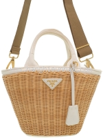 Túi xách Prada đan tre Wicker 1BG172