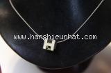 Vòng cổ Hermes h cube trắng