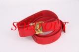 Thắt lưng vải Ferragamo màu đỏ