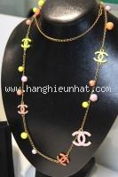 Vòng cổ Chanel sắc màu