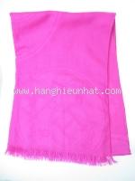 Khăn hermes len lụa màu hồng cỡ to